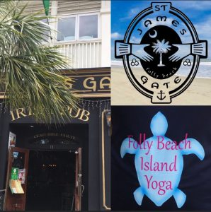 Yoga Class Brunch Folly Beach Charleston SC St James Gate Irish Pub