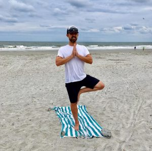 Folly Beach Island Yoga Matthew Stevens Male Teacher South Carolina