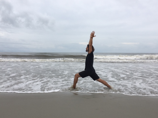 Folly Beach Island Yoga Matt Foley Teacher Ocean
