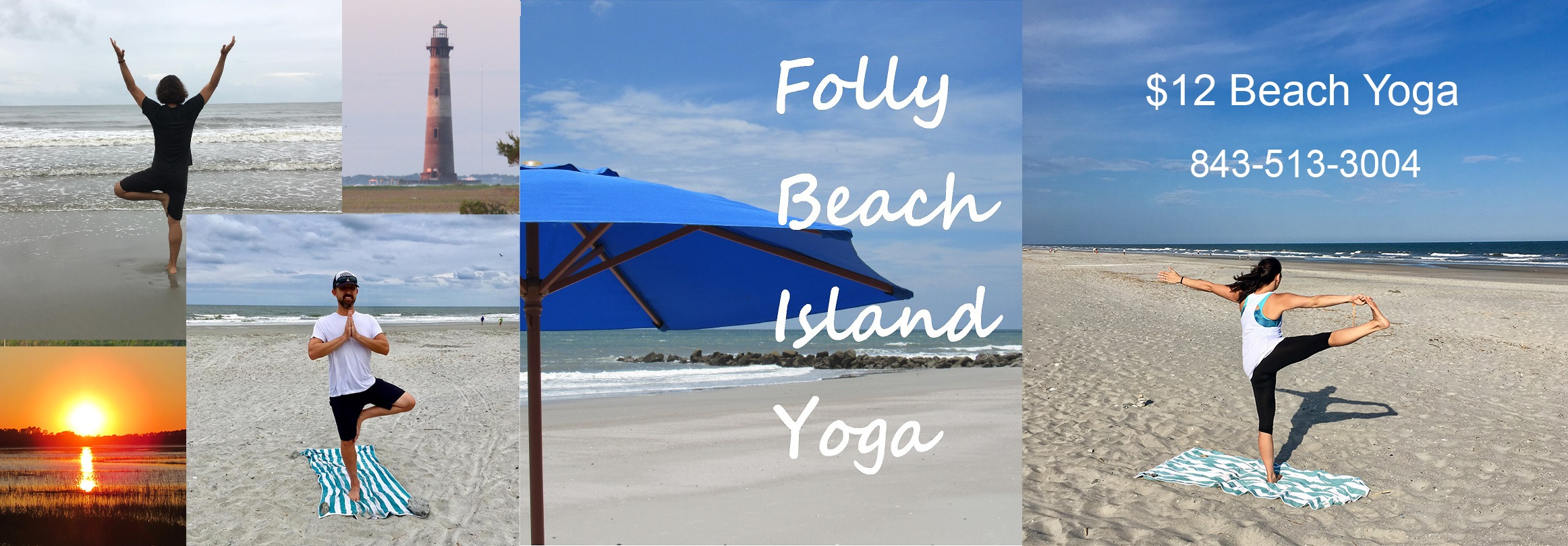 Yoga Class Classes Things to Do Folly Beach Charleston