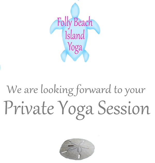 Folly Beach New Years Eve 2017 2018 Yoga Private Session Gift Certificate_